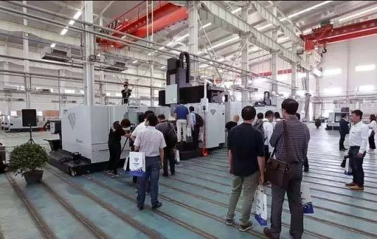 Haitian Precision Dalian factory open day & Mold Machine Tool Processing Exhibition