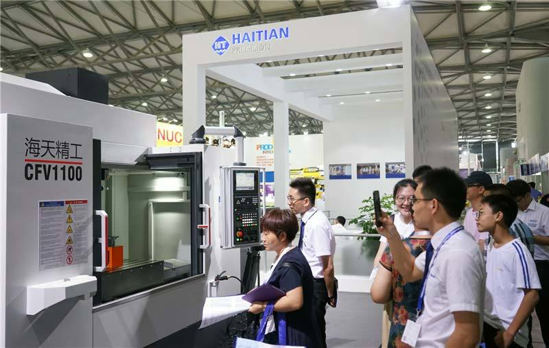Haitian Precision at 2018 China Die Casting Exhibition