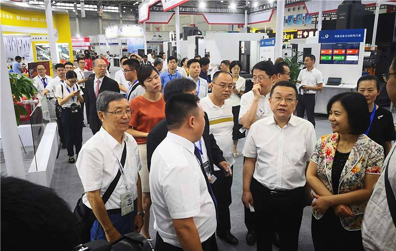 Haitian Precision at Wuhan Machine Tool Fair